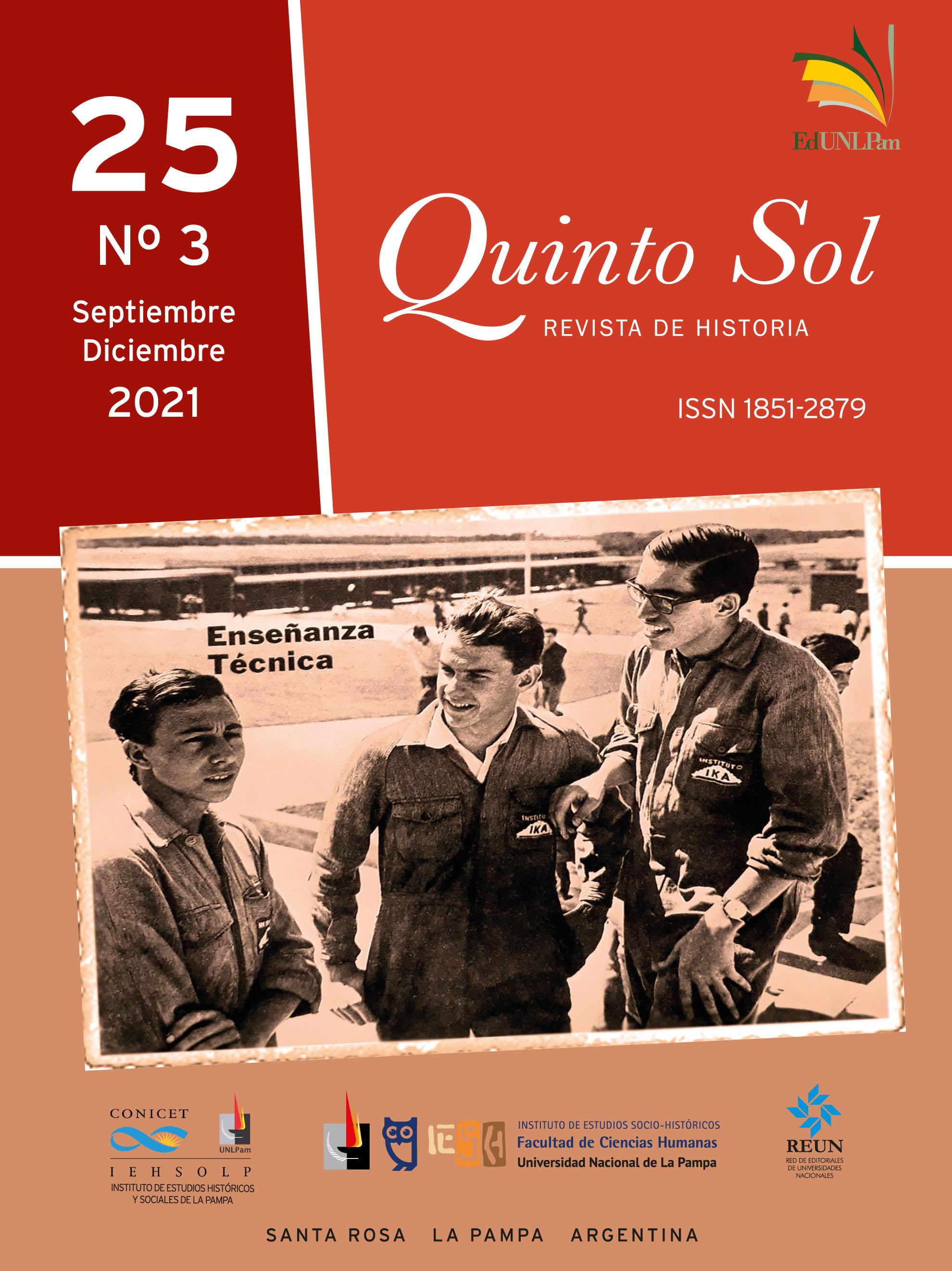 Fotografía de tapa: Enseñanza técnica, julio-agosto de 1964, Gacetika 71, p. 33. Biblioteca Mayor de la Universidad Nacional de Córdoba. Gentileza Paula Romani.