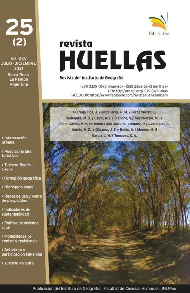 Foto de portada: Camino vecinal de Anguil. Gentileza de Ximena Morales